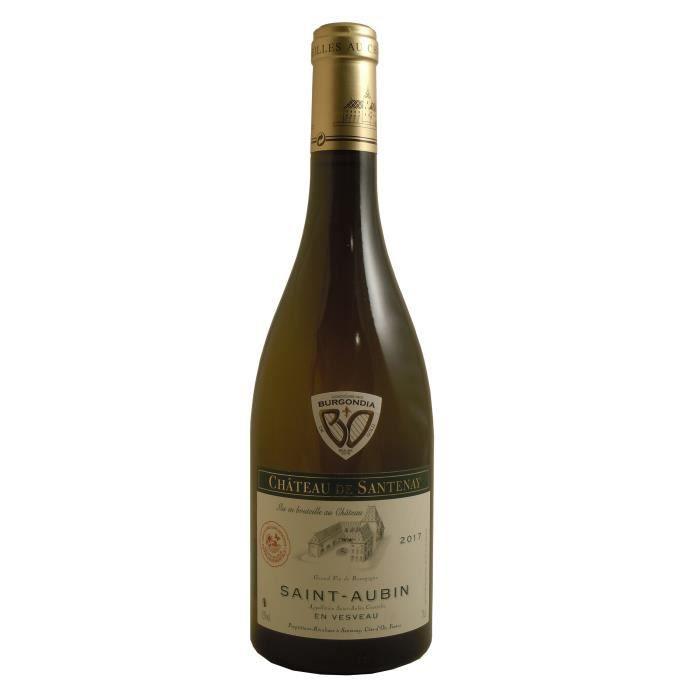 Château de Santenay 2017 Saint Aubin -Vin blanc de Bourgogne