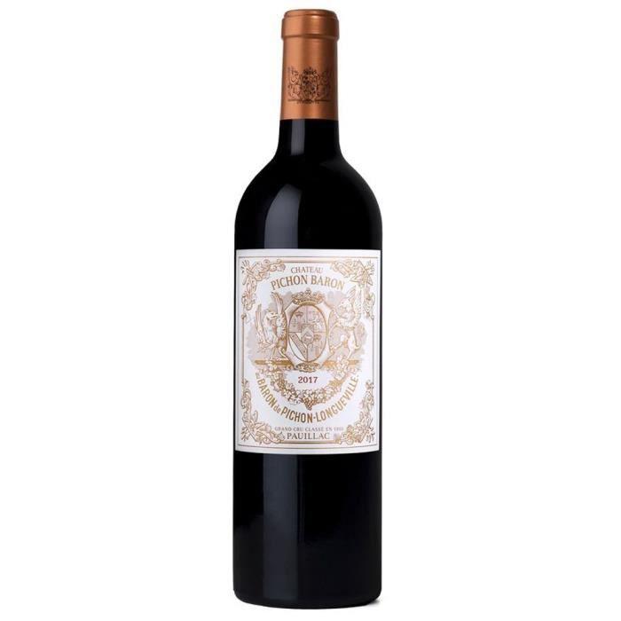 Château Pichon Baron 2017 Pauillac Grand Cru Classé - Vin rouge de Bordeaux