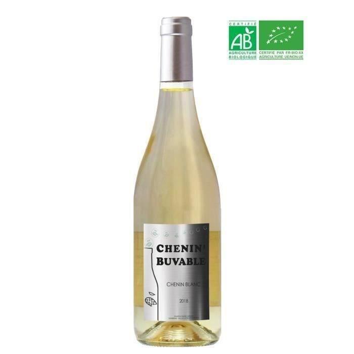 Chenin blanc Buvable 2019 Anjou - Vin de Loire
