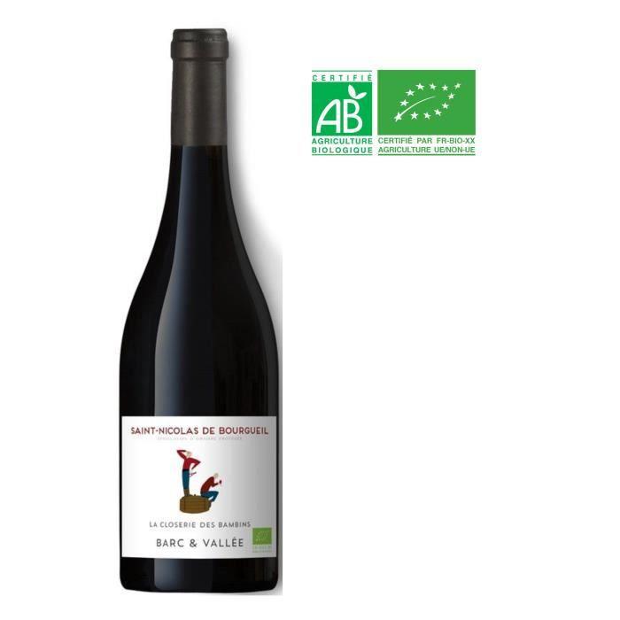 La Closerie des Bambins 2018 Saint-Nicolas-de-Bourgueil - Vin rouge de Loire Bio