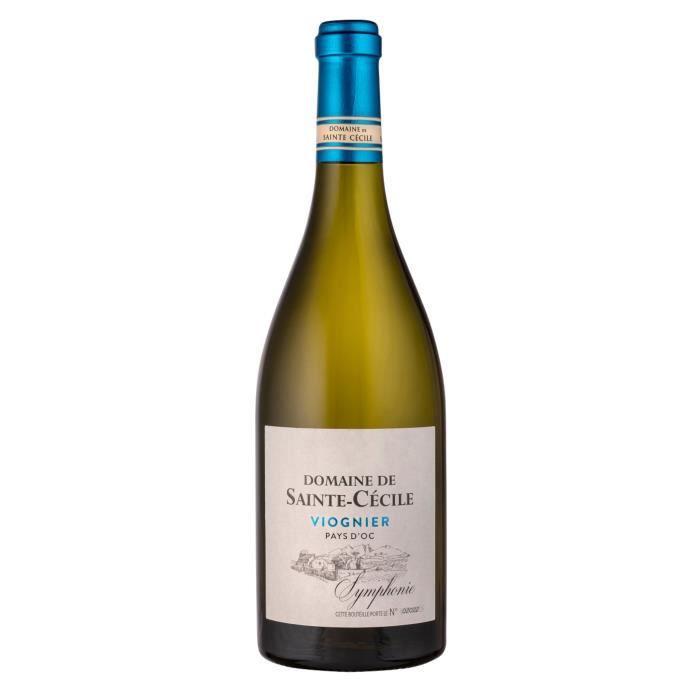Domaine Sainte Cécile 2019 Pays D'Oc Viognier - Vin Blanc du Languedoc-Roussillon