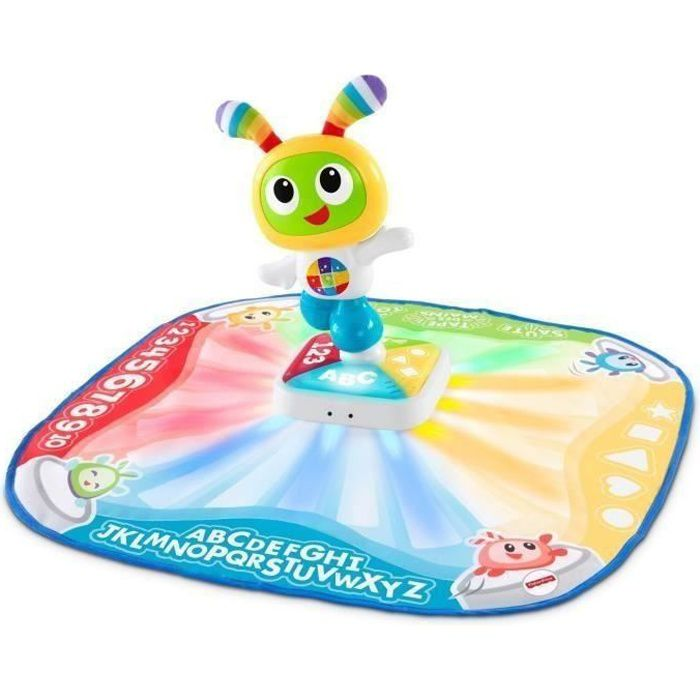 FISHER-PRICE Tapis de danse et de jeu Bebo musical et interactif