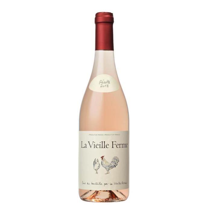 La Vieille Ferme Côtes du Lubéron - Vin rosé de la Vallée du Rhône
