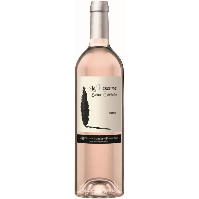 Réserve Sainte-Gabrielle 2019 Alpes-de-Haute-Provence - Vin rosé