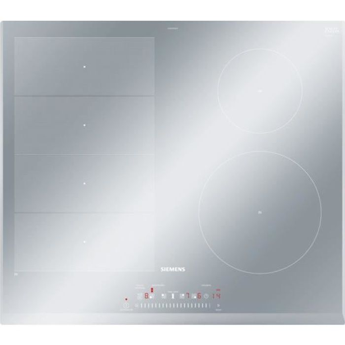 Table de cuisson induction Siemens EX659FEB1F - 7400W - 4 zones