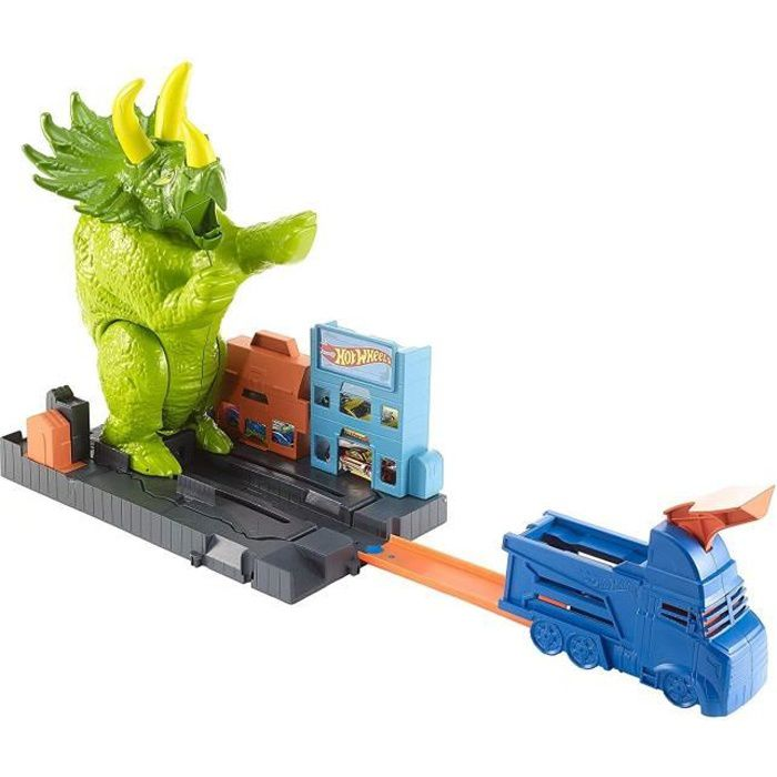 HOT WHEELS City Attaque du Triceratops