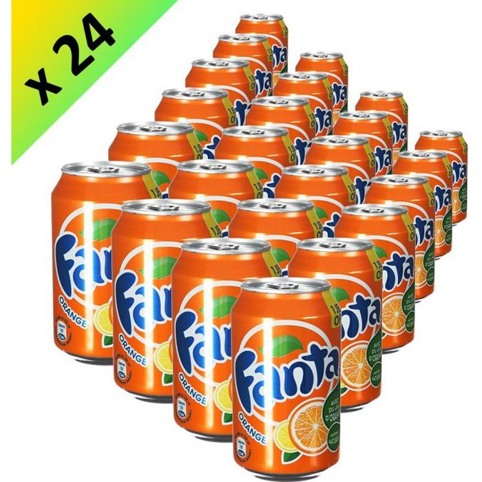 FANTA Orange Boite 33cl (x24)
