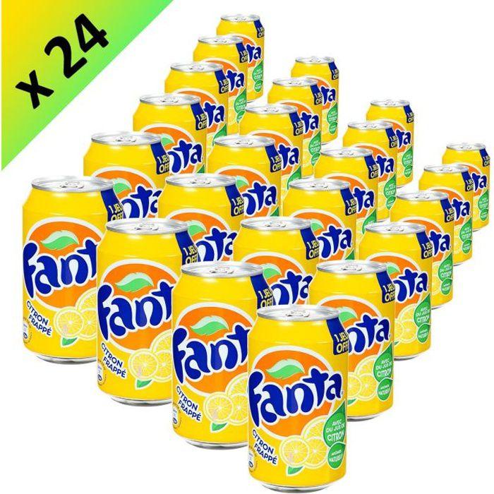 FANTA Citron Frappé 33cl (x24)