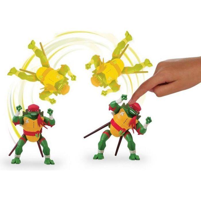 Les Tortues Ninja - Figurine deluxe electronique - RAPH