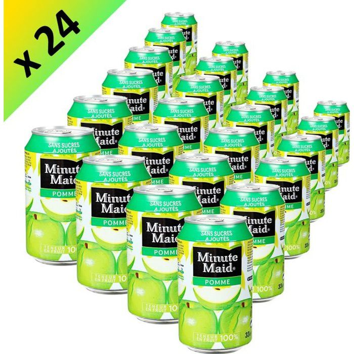 MINUT MAID Pomme Boite 33cl (x24)