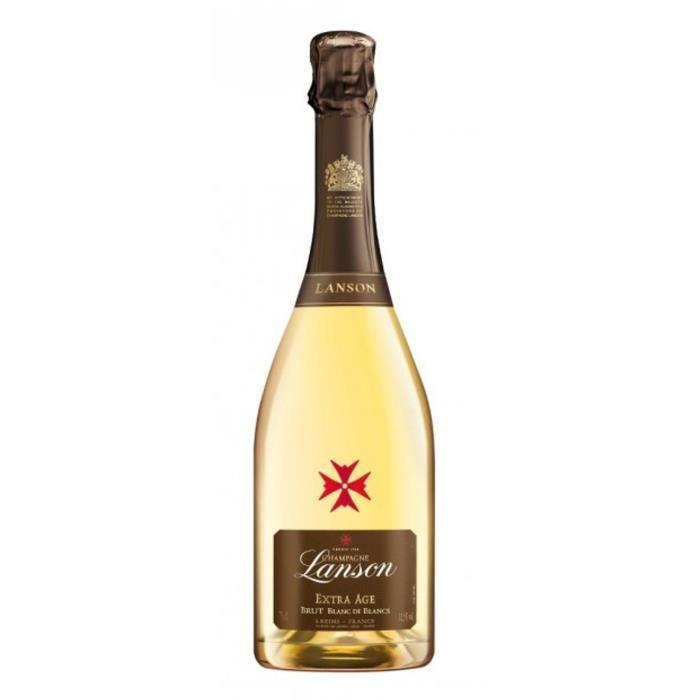 Champagne Lanson Extra Age Blanc de blancs Brut - 75 cl