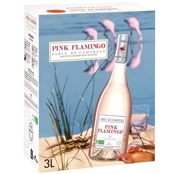 BIB 3L Pink Flamingo Gris de gris IGP Sable de camargue rosé