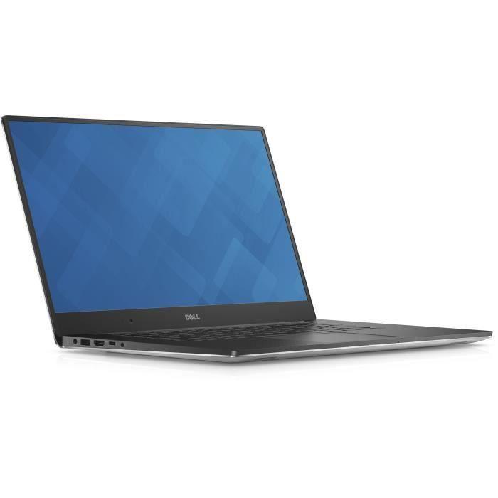 DELL PC Portable Workstation 5510 - 15.6- écran tactile 3840 x 2160 - 16 Go de RAM - Xeon E3 / 2.8 GHz - 512 Go SSD - Win 7 Pro