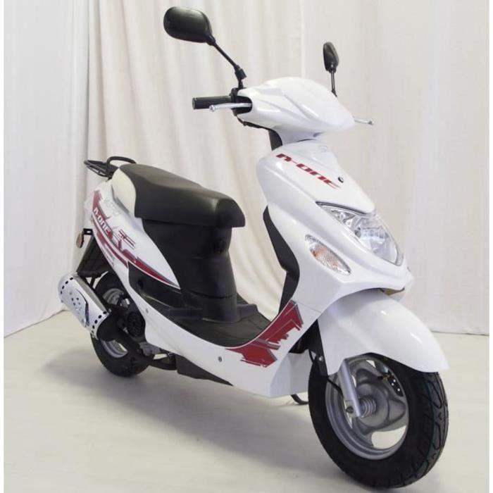 VASTRO 50 R-One Scooter 4 Temps Blanc Garantie 6 Mois pièces
