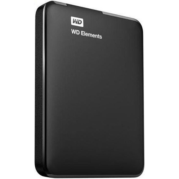 Western Digital Disque Dur Externe - Elements - 1To - 2.5\