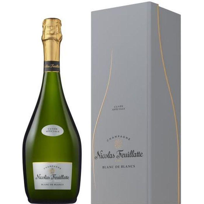 Nicolas Feuillatte Champagne Cuvée Spéciale Blanc de Blancs en coffret