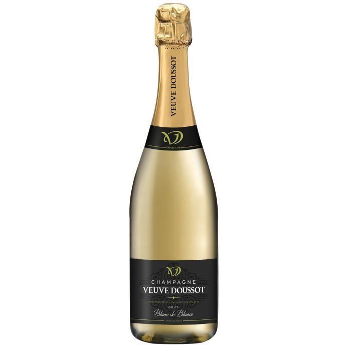 Champagne Veuve Doussot Blanc de blancs Brut - 75 cl