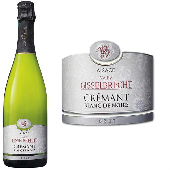 Gisselbrecht Blanc de noirs - Crémant d'Alsace