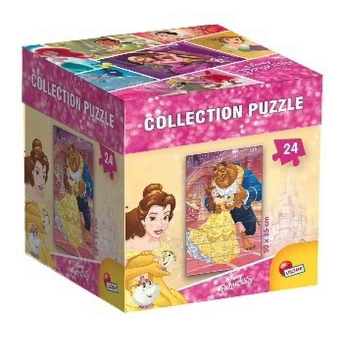 DISNEY PRINCESSES - puzzle Belle