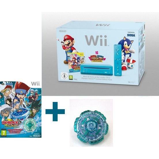 Wii MARIO & SONIC + BEYBLADE+ TOUPIE