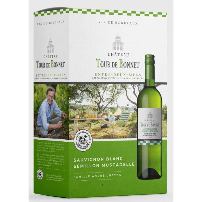 BIB Château Tour de Bonnet 2020 Entre-Deux-Mers - Vin blanc de Bordeaux