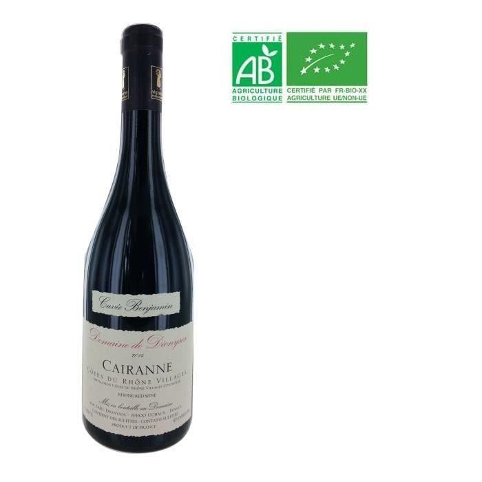 Domaine de Dionysos 2014 Cairanne - Vin rouge de la Vallée du Rhône - Bio