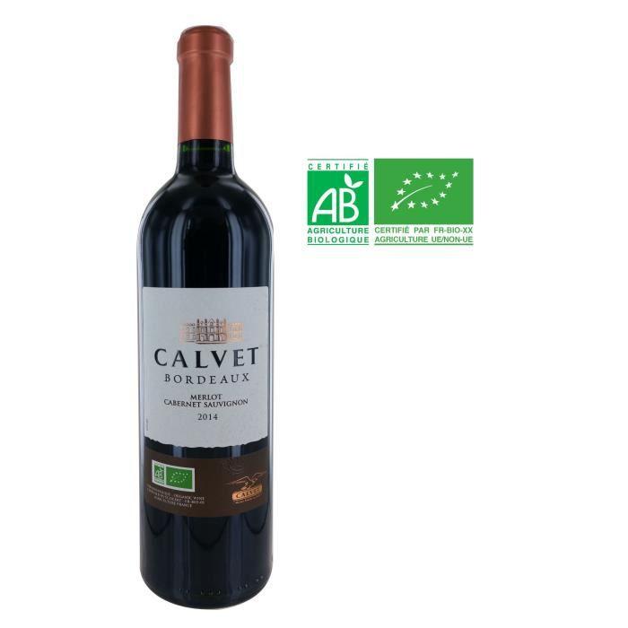 CALVET 2014 Grande Réserve Bordeaux BIO - Rouge - 75 cl - AOP