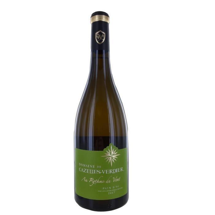 Au Rythme du Vent 2017 Pays d'Oc Bio - Vin blanc du Languedoc