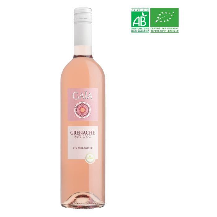 Gaïa Pays d'Oc - Vin rosé du Languedoc - Bio