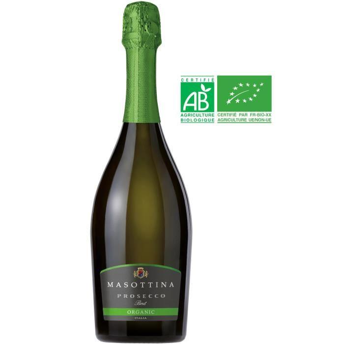Massotina Prosecco Brut Treviso - Vin blanc d'Italie - Bio