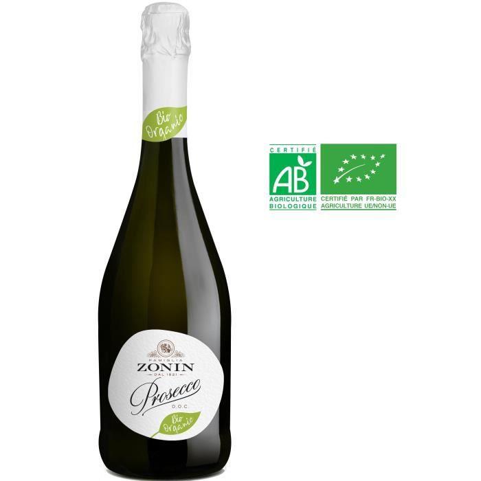 Zonin Dal 1821 Prosecco - Vin pétillant d'Italie - Bio