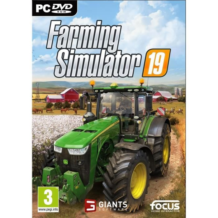 Farming Simulator 19 Jeu PC