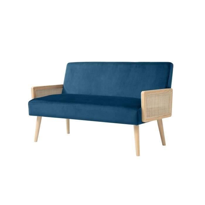 Banquette cannage