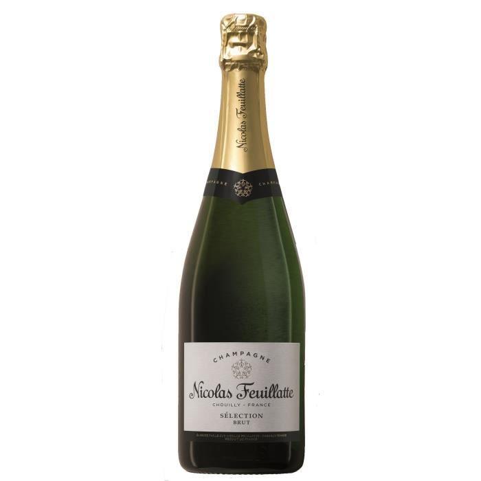 Champagne Nicolas Feuillatte Sélection Brut - 75 cl