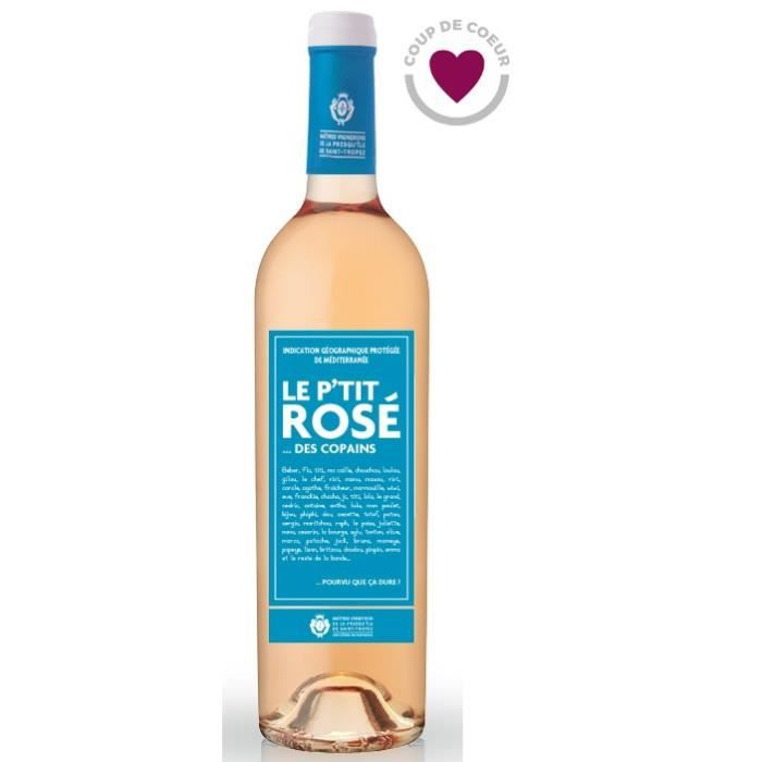 Le P'tit Rosé des Copains Méditerranée - Vin rosé de Provence