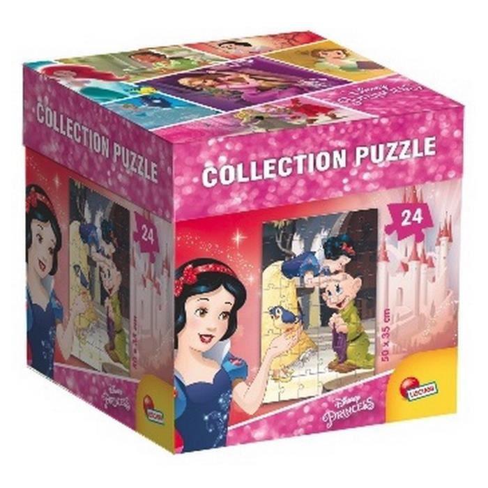 DISNEY PRINCESSES - puzzle Blanche Neige - 24 pièces