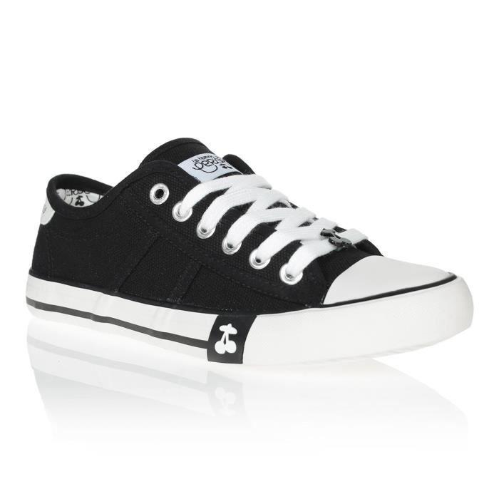LE TEMPS DES CERISES Chaussures Easy Black Noir/Blanc Femme