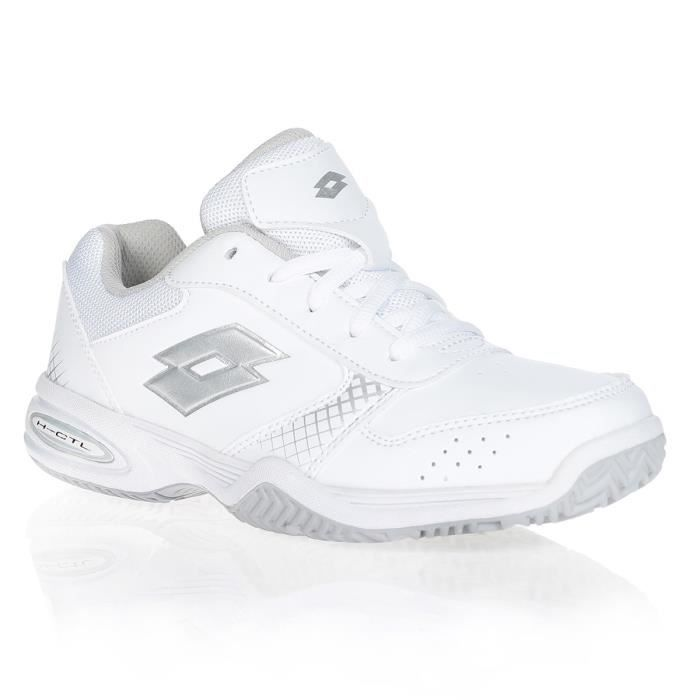 LOTTO Chaussures de tennis T-Strike - Junior - Blanc
