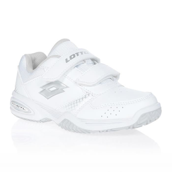 LOTTO Chaussures de tennis T-Strike CD - Enfant - Blanc