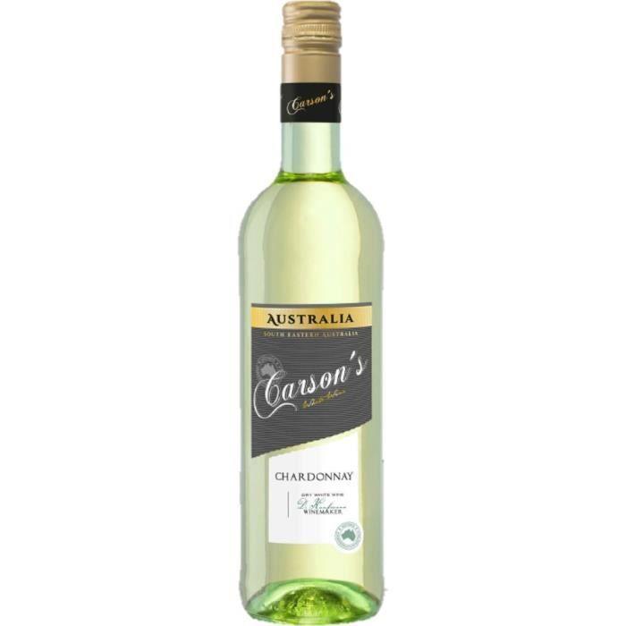 CARSON'S Chardonnay Vin d'Australie - Blanc - 75 cl