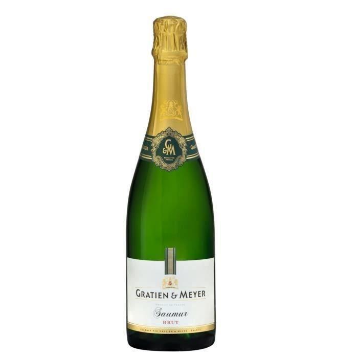 Gratien & Meyer Saumur brut AOC - Blanc - 75 cl