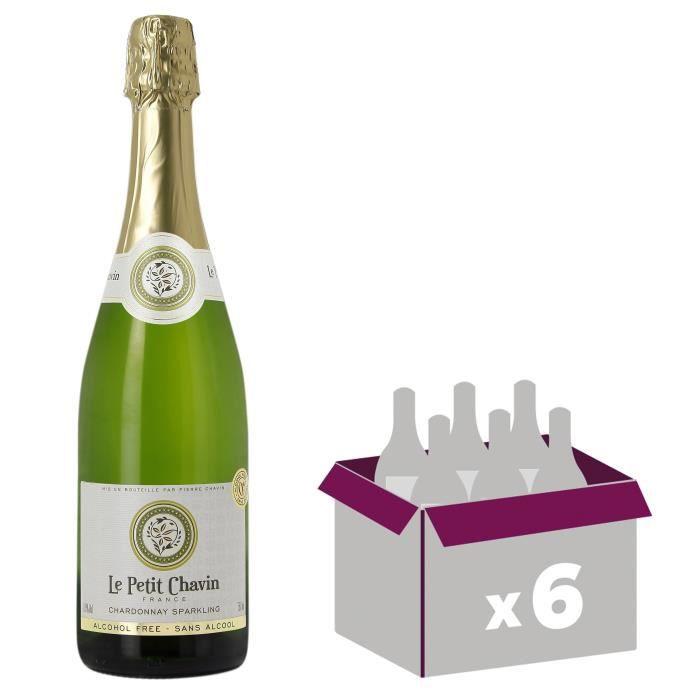Le Petit Chavin - Chardonnay - Effervescent - Boisson à base de vin - Sans alcool