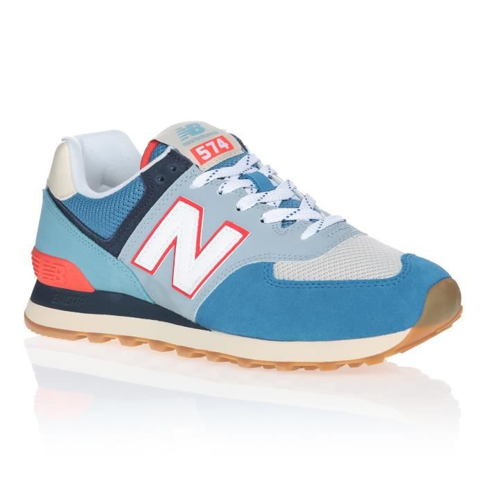 NEW BALANCE Baskets ML574SOS Bleu Homme