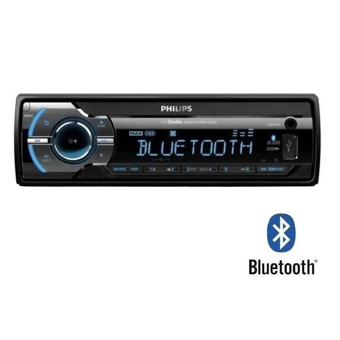 PHILIPS CE 235BT Autoradio Bluetooth USB SDHC - AUR -