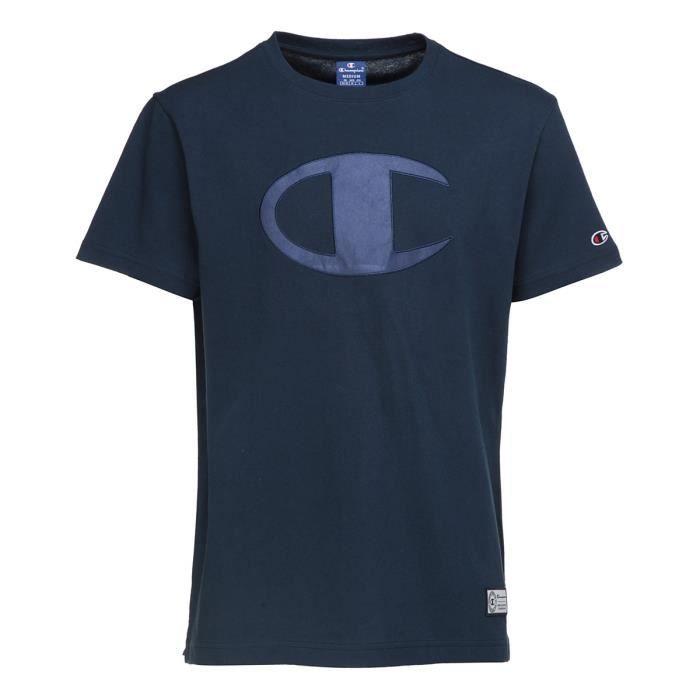 CHAMPION T-shirt manches courtes - Homme - Bleu