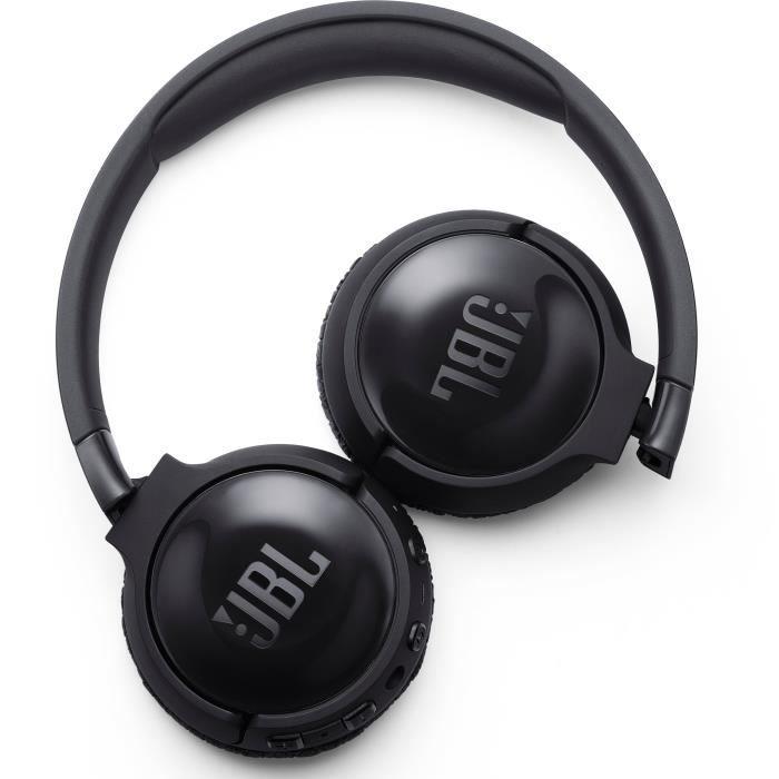 JBL T600BTNCBLK Casque circum auriculaire - Réduction de bruit active - Bluetooth