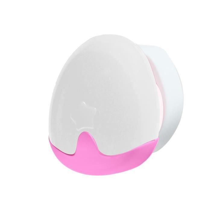 PABOBO Veilleuse automatique - LED éco-consommation - Dès la naissance - Rose
