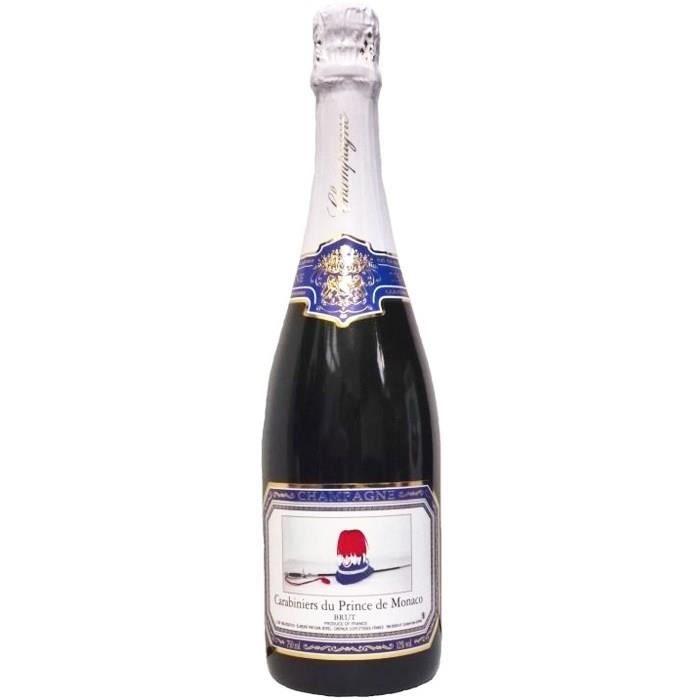 Champagne des Carabiniers du Prince de Monaco Cuvée de Réserve Brut