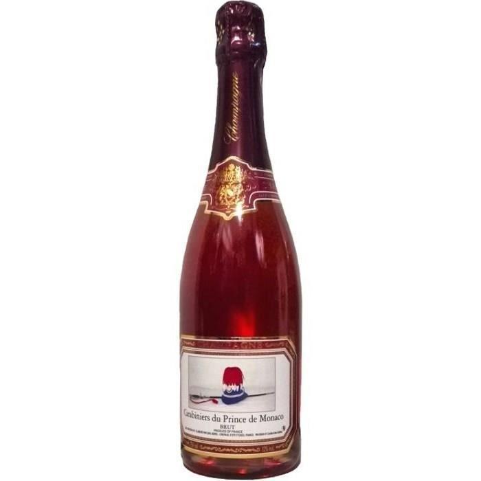 Champagne des Carabiniers du Prince de Monaco Cuvée de Réserve Rosé