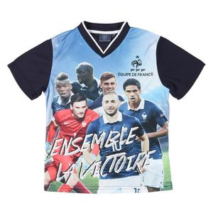 FFF Tee Shirt Football Equipe de France Enfant FTL